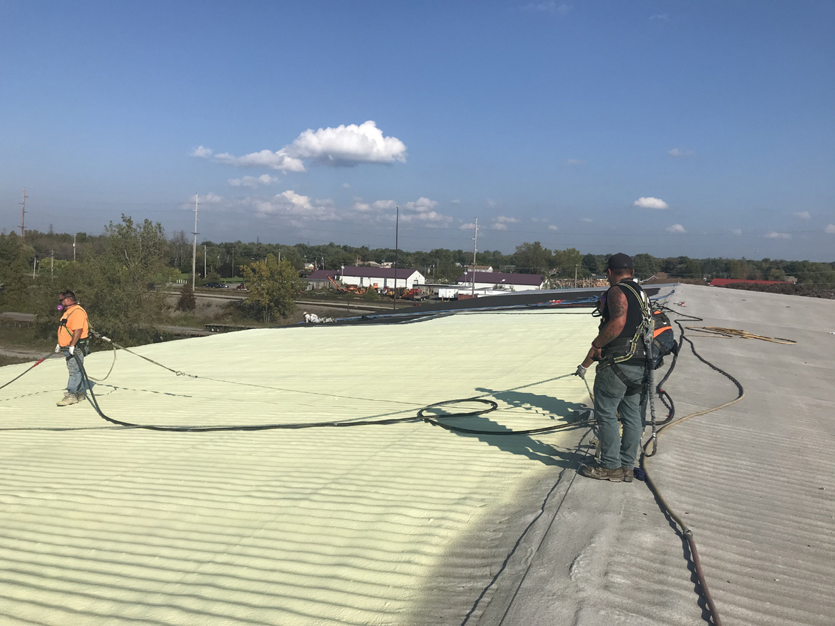 Exterior Spray Foam Roofing