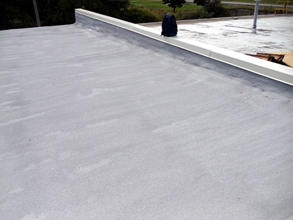 BGI Spray Foam Roof