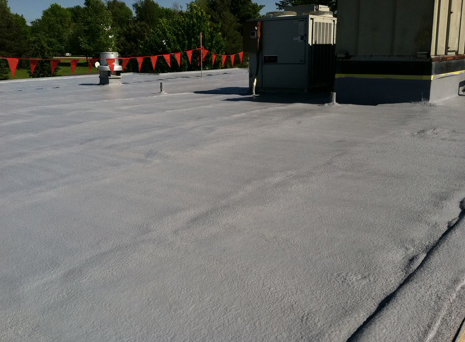 SPF Spray Foam Roofing from United Thermal
