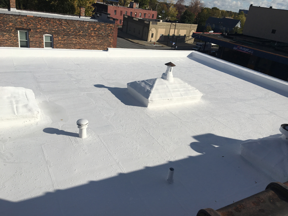 Sherwin Williams Spray Foam Roofing Contractor