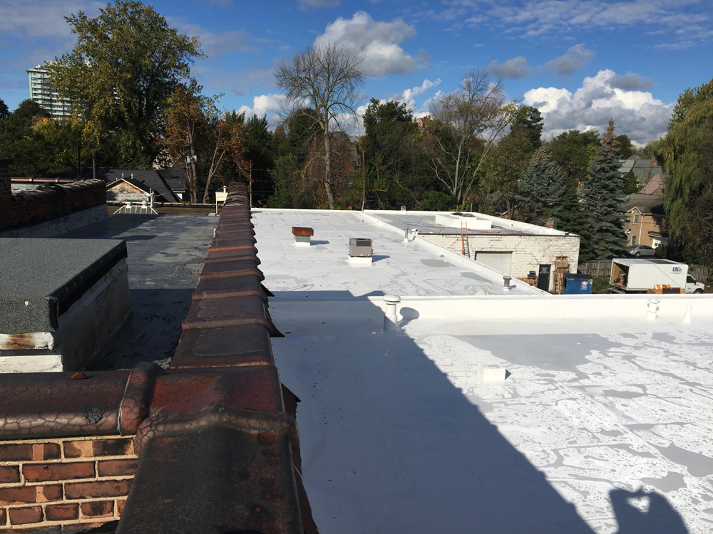 Sherwin Williams Spray Foam Roofing