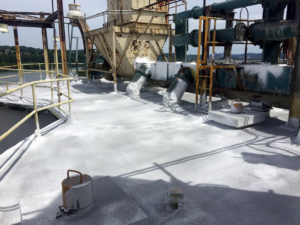 Cemex Pittsburgh Pa Silo Roofs Portfolio Details