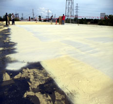 Spray Foam Direct to Concrete Deck