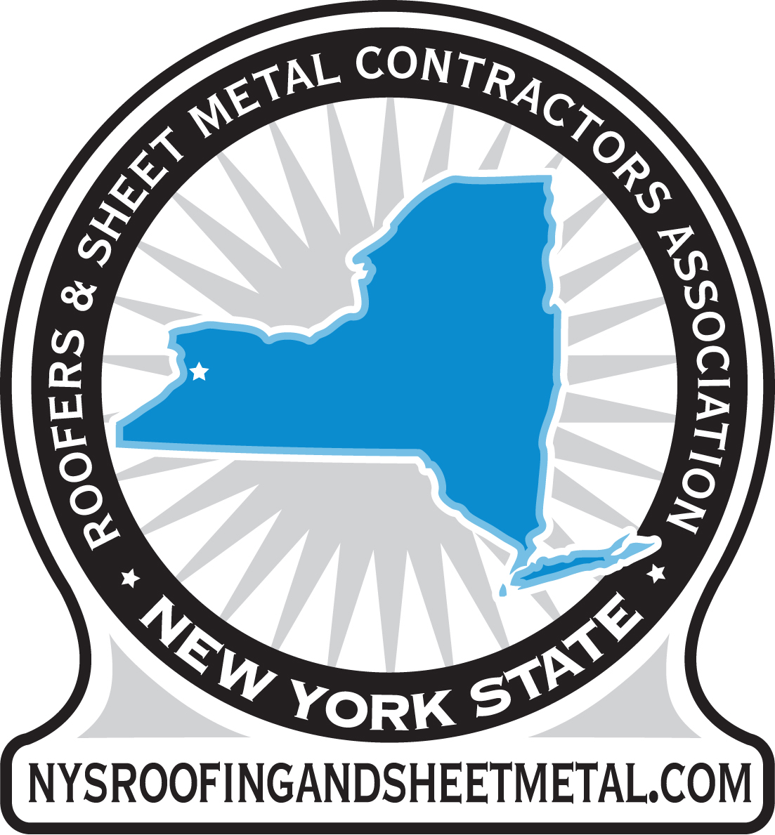 Roofers & Sheet Metal Contractors Association of New York State logo