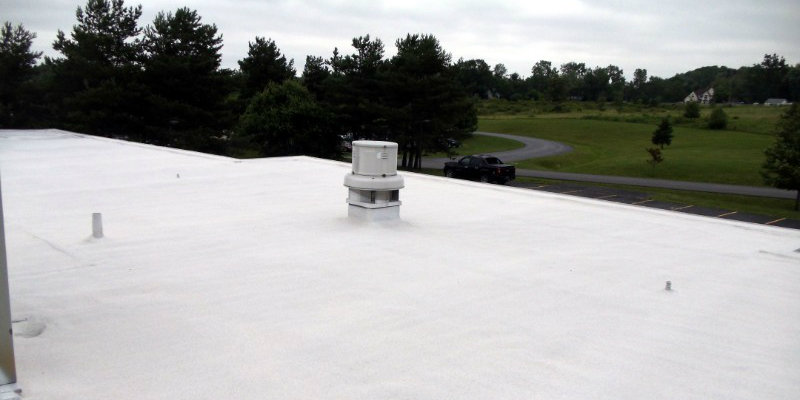 Industrial Spray Foam Roofing