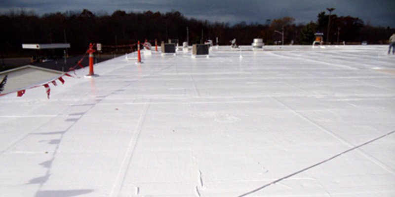 Commercial Roofing Coating