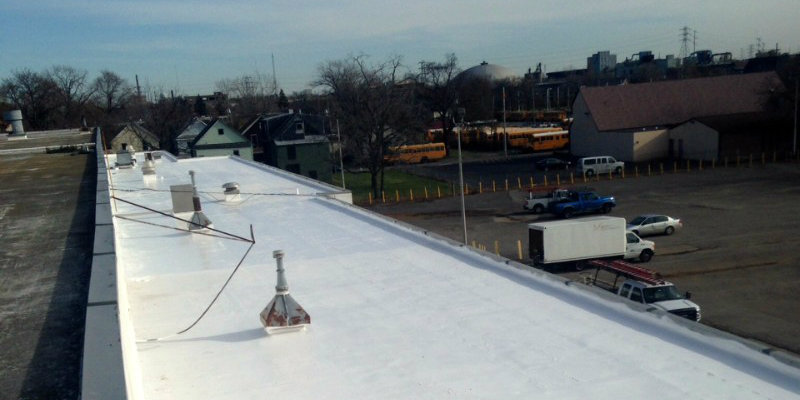 Roof Foam Coating